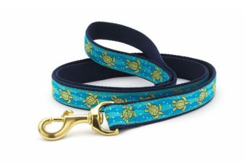 Up Country Sea Turtles/Navy 6' Leash