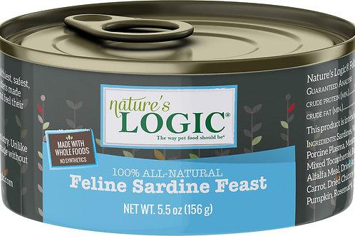 Nature's Logic Feline Sardine Feast Cat Food