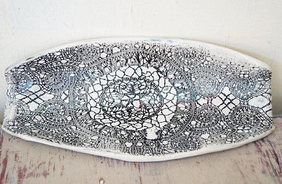 Ceramic Bread plate SOLD