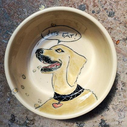 """Pet Bowls - large 10 - 12"""""""