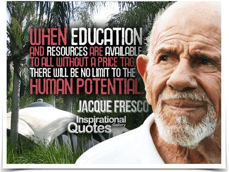 Jacque Fresco. Futurism