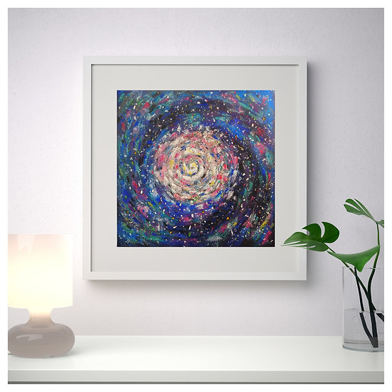 Space Digital Art. Universe.
