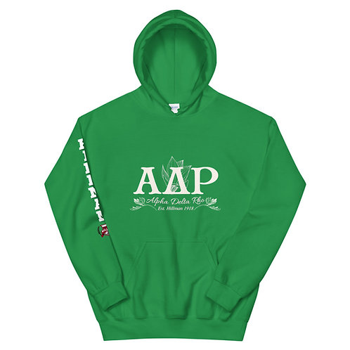 The Alpha Delta Rho Hoodie X Hillman The Game