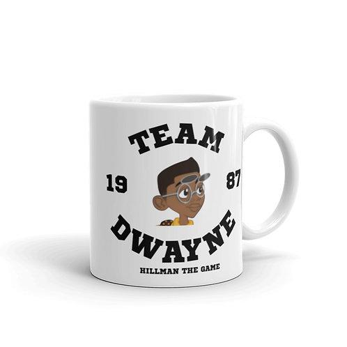 Team Dwayne 1987 Mug