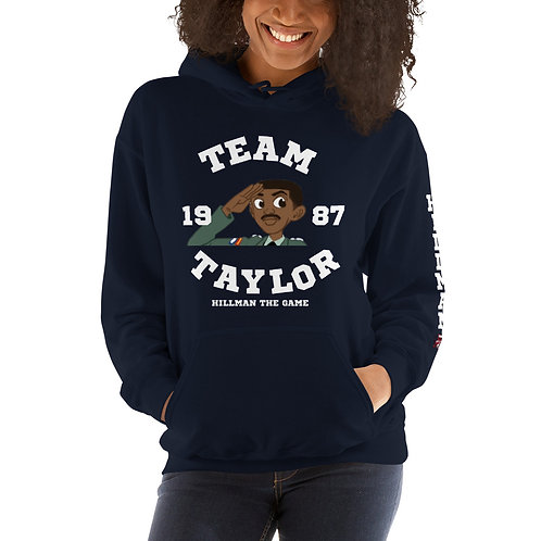 HILLMAN THE GAME Team Taylor Hoodie