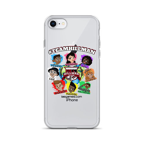#TeamHillman HILLMAN THE GAME Character iPhone Case