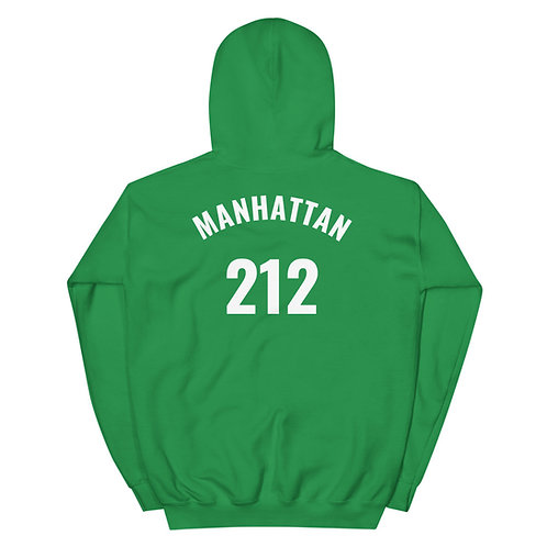 Blame It On My Borough Manhattan 212 Hoodie