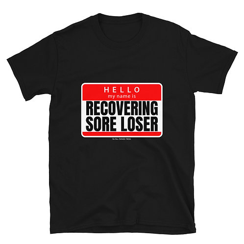 The Recovering Sore Loser TableTop Tee