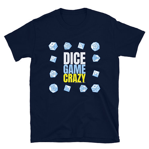 The Dice Game Crazy TableTop Tee