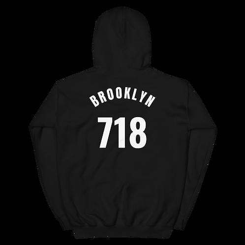 Blame It On My Borough Brooklyn 718 Hoodie