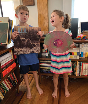 MY VINYL LIFE WITH THE STEREO KIDS By Donny Levit