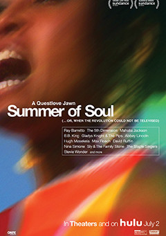"""THE HARLEM CULTURAL FESTIVAL GETS NOTICED DECADES LATER IN QUESTLOVE'S """"SUMMER OF SOUL"""" Donny Levit"""