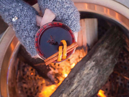 THE ANSWER FOR COLD OUTDOOR GET-TOGETHERS by Barlingual Chicks Chrissy McIntyre & Katy Chapman