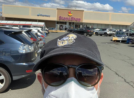 GETTING LOST IN THE PANDEMIC SUPERMARKET by Donny Levit