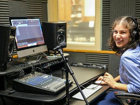 STUDENTS MIX MUSIC AND FUN by Reba Auslander-Stevens and Ellen Dreyer