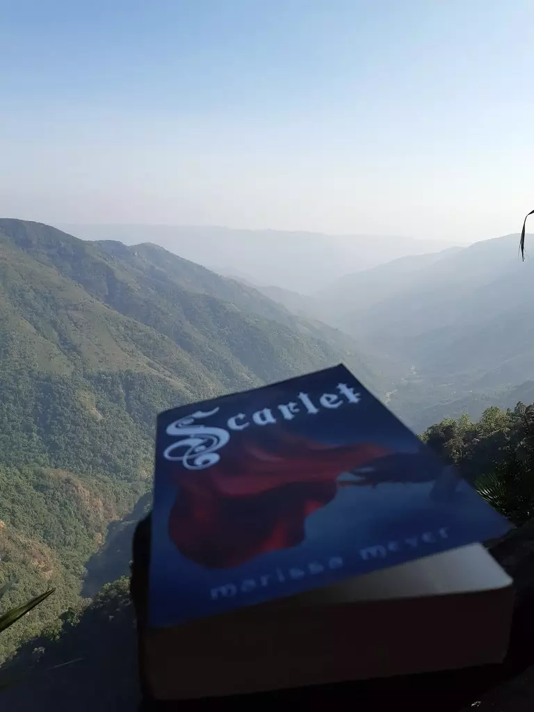 scarlet, books 'n butterflies