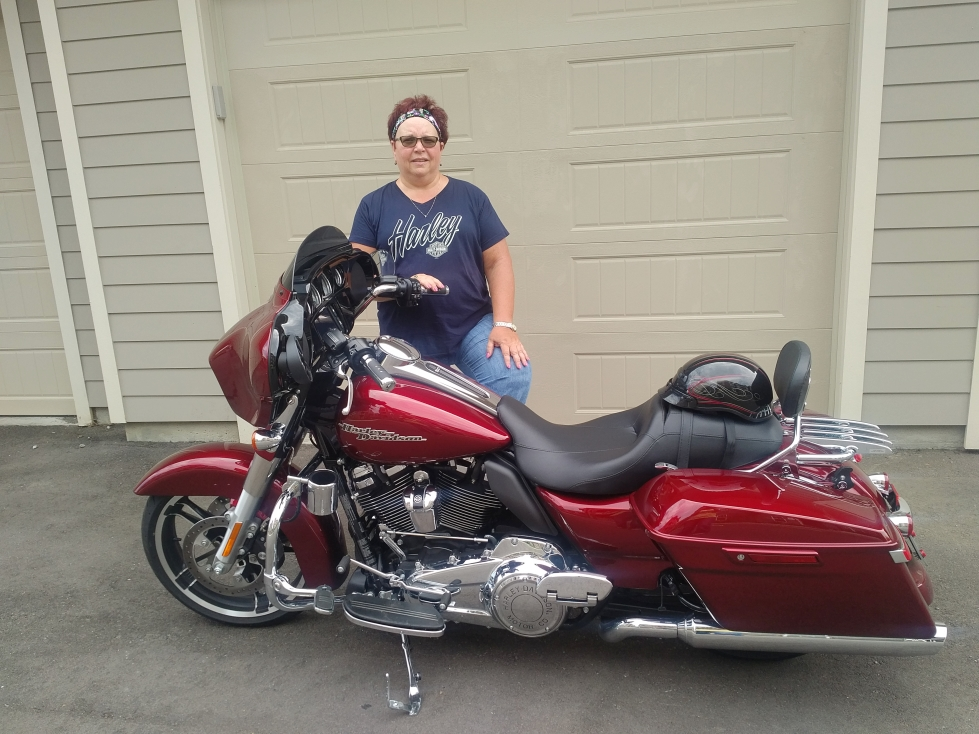 Pam's Harley