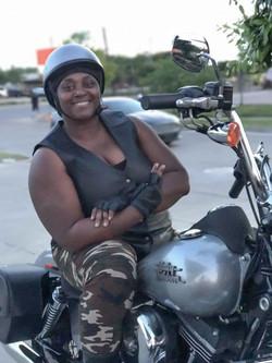 Lynne's Harley