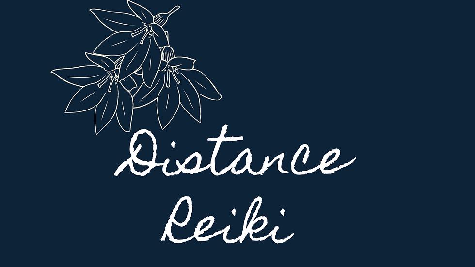 Distance Reiki Gift Card