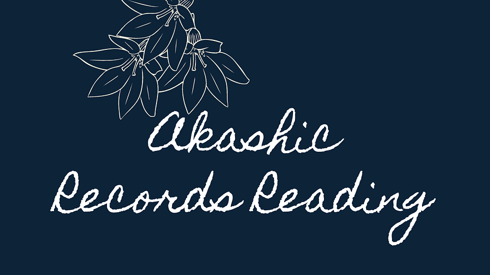 Akashic Records Reading Gift Card