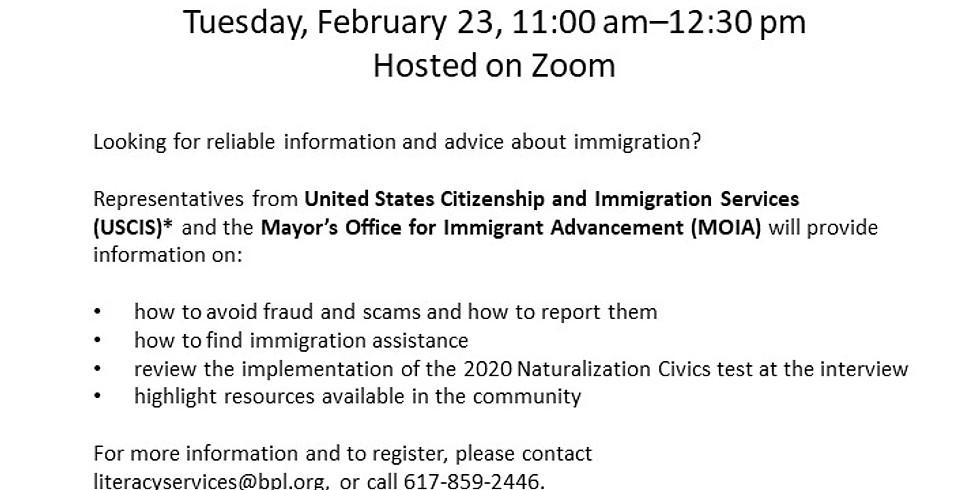 Immigration Overview Webinar
