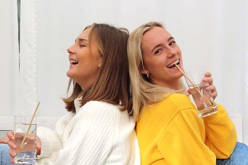 Rawstraw founders- Elise Lindow och Josephine Daly Tempelaar