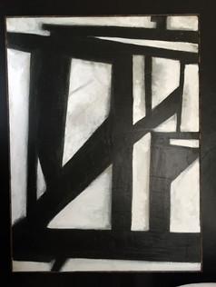 """30"""" x 40""""  Acrylic on Canvas"""