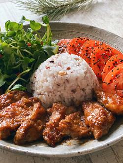 Grilled Ginger Pork ( Shogayaki )