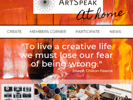 ArtSpeak At Home