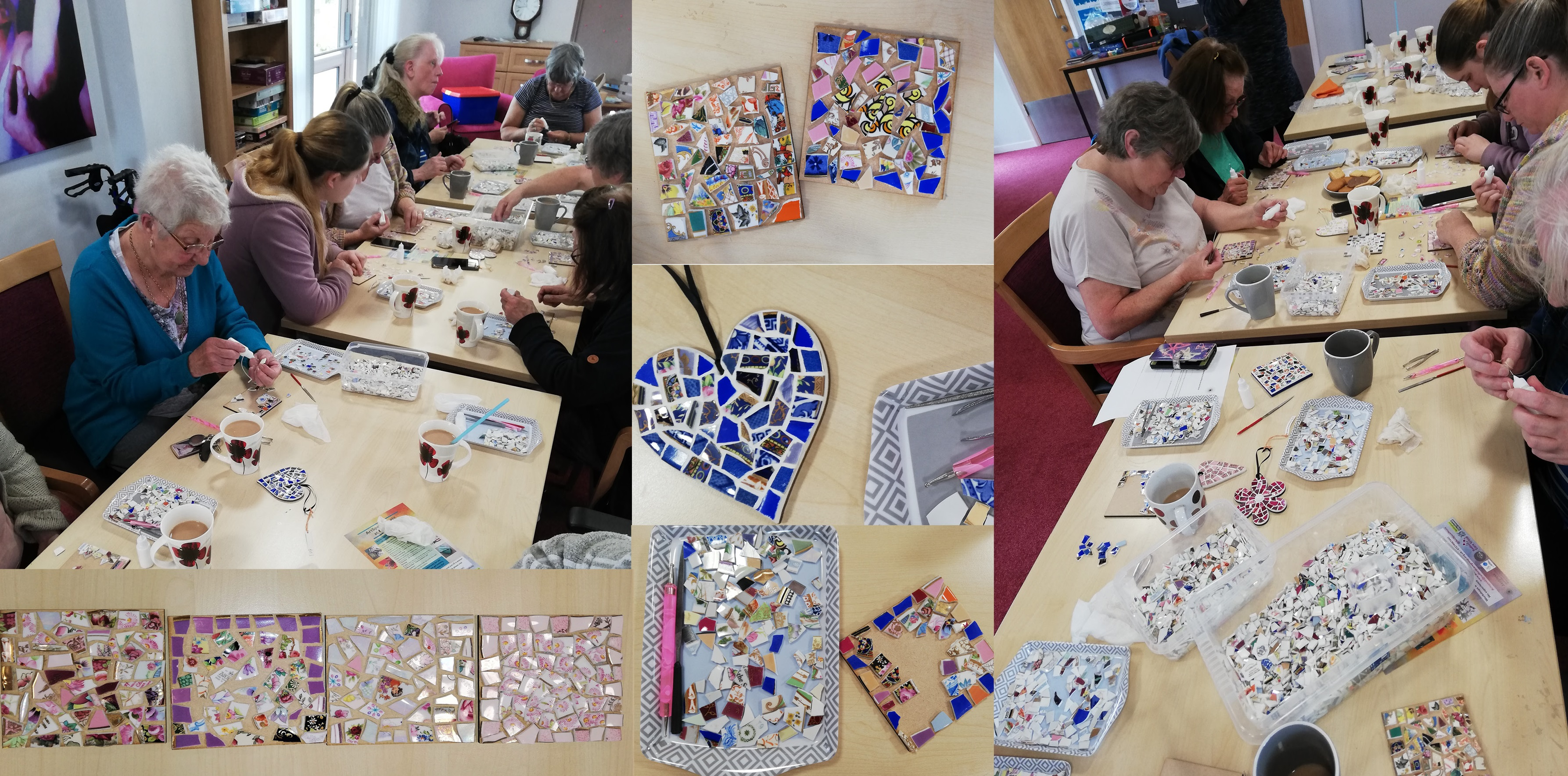 China Mosaics workshop