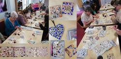 China Mosaics workshop