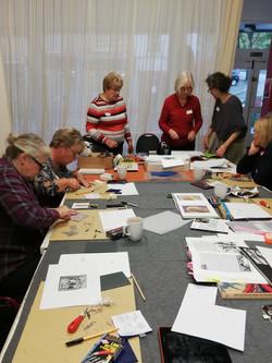 Printing workshop with Nancy Power