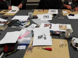 Linocut Printing with Nancy Power