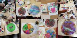 Silk Painting at City Arts