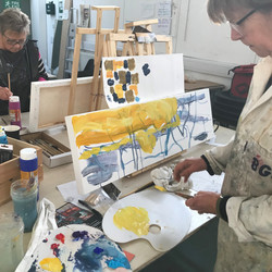 Painting workshop with Liz Goulding