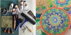 Silk Painting with Jess Kemp