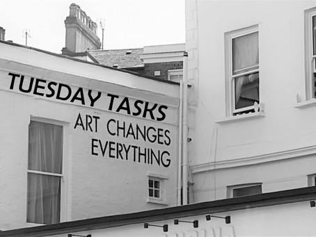 DAILY ACTIVITIES - TUESDAY TASKS