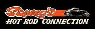 Squeeg's Hot Rod Connection Orange 33 Ford Roadster Logo