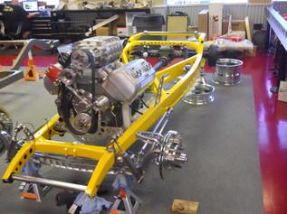 Scott Rueschenberg's '32 Ford Coupe