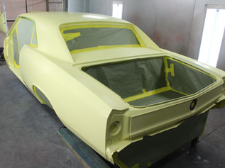 E.C. Brookover's '67 Chevelle in Primer.