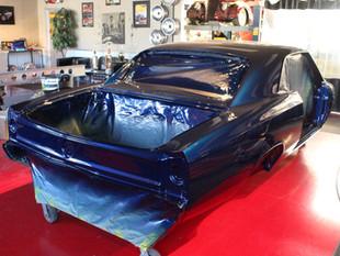 E.C. Brookover's '67 Chevelle Rear Quart