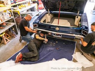 E.C. Brookover's '67 Chevelle Bumper Ins