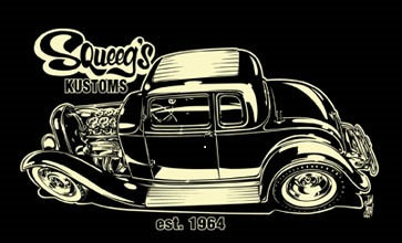 Squeeg's Kustoms '32 5 Window
