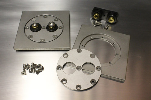 Round Plate with Terminals