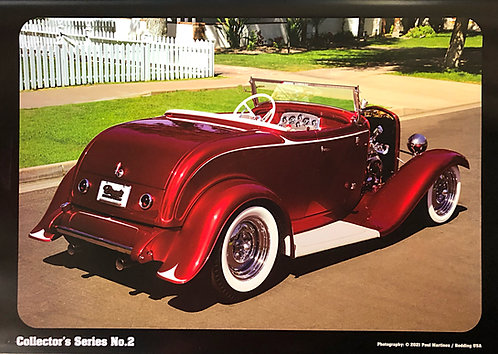 Squeeg's Dads Car '32 Roadster Poster