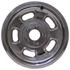 """Squeeg's Kustoms Hot Rod Connection Sprint 16"""" x 5"""" Wheel. Polished."""