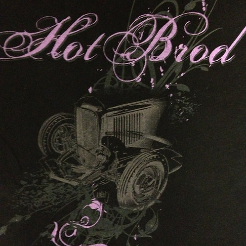 HotBrod '32 Highboy with Pink Logo