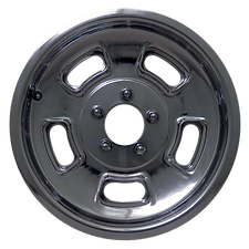 "Squeeg's Kustoms Hot Rod Connection Sprint 15"" x 4.5"" Wheel. Polished."