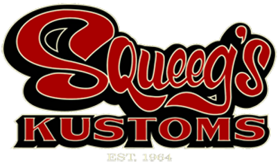 Squee's Kustoms logo