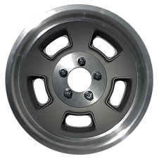 "Squeeg's Kustoms Hot Rod Connection Sprint 15"" x 8"" Wheel. Cast with Machined Lip."